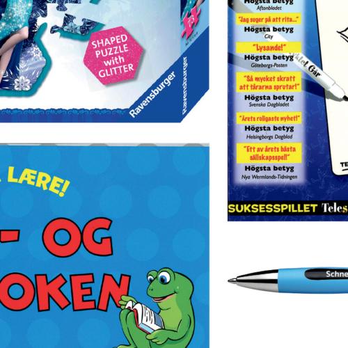 Chrom – ledende leverandør til leketøysbutikker og bokhandlere
